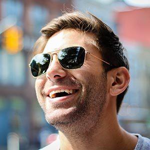 Man in sunglasses sample photo: CMC
